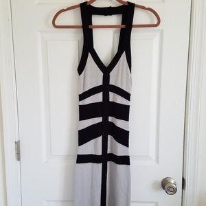 Bebe Black & Gray Dress